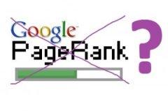 Google PR показывает 0 или N/A для всех сайтов