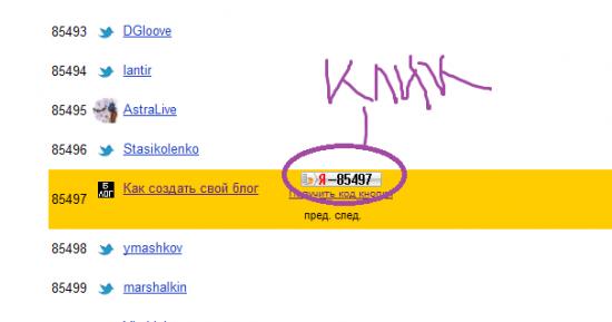 yandex блоги рейтинг