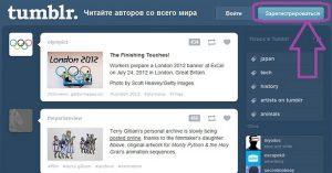 Как Создать Блог на Tumblr