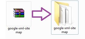 Распаковать архив с плагином WordPress